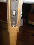 De slot van de kastdeur binnen moest vervangen worden.....